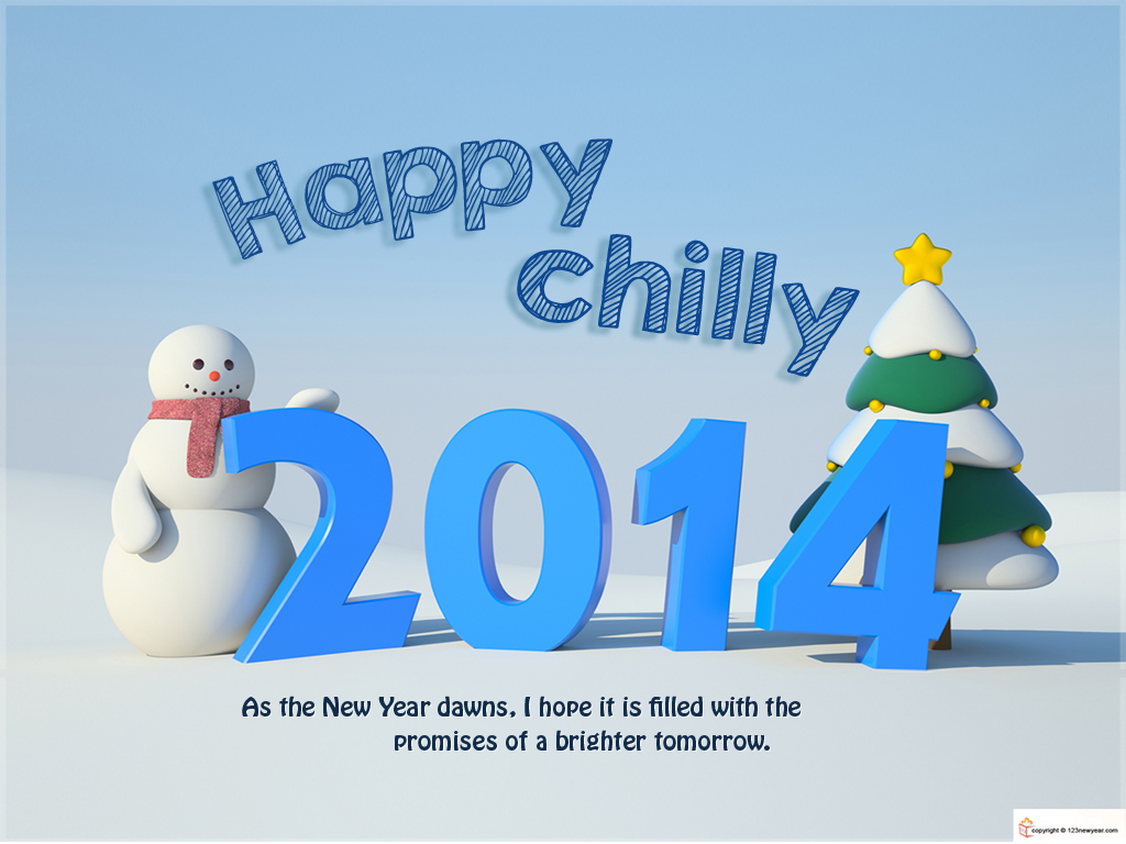Happy chilly