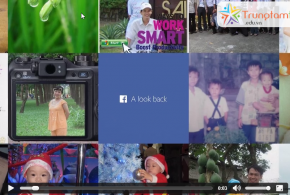 Download video HD từ Facebook Look Back